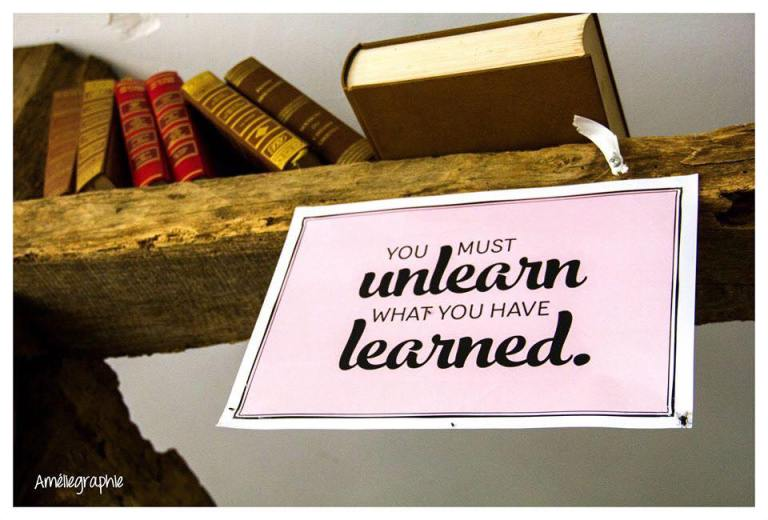 unlearn what learnt