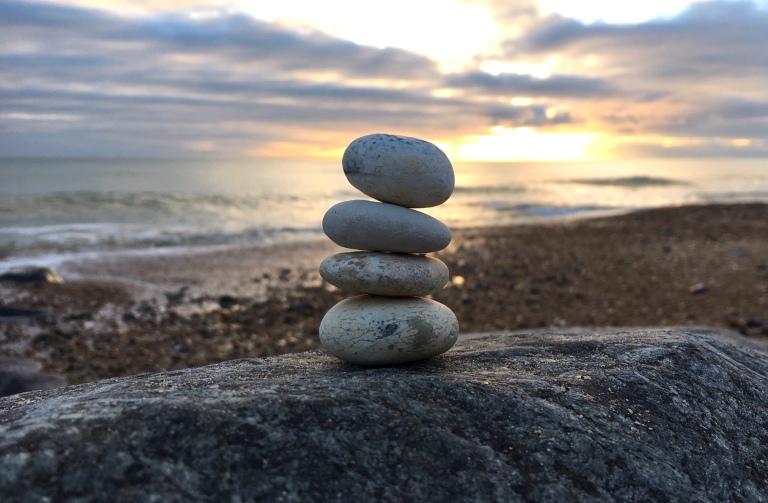 stones mindfulness